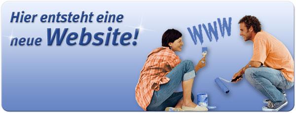 Hier entsteht eine neue Website!