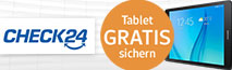 Sammelpunkte WEB.Cent; Gratis Tablet bei CHECK24