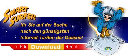 SmartSurfer - ...auf der Suche nach den gunstigsten Internet-Tarifen der Galaxie!